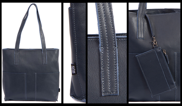 Navy tote 4 in one pic 610