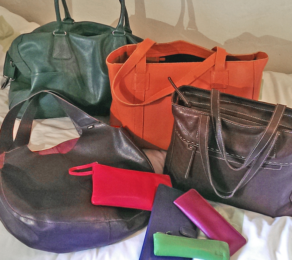 Shona Easton Bags on the move