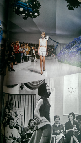 Vogue at shows then and now