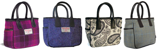 Again, the bag on the left is the rip-off. The others are made by me.